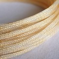 Deluxe High Density Weave Gold Cable Sleeve (12mm)