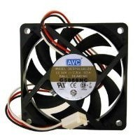 AVC 70mm x 15mm 2 Ball Bearing Hi-Speed CPU Fan DA07015B12U