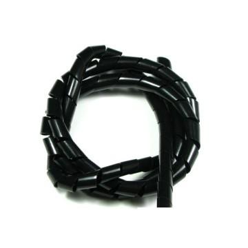 KSS Spiral Wrap Polyethylene Black (1m)