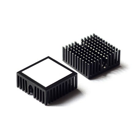 Aavid Thermalloy Premium Black Heat Sink 23mm X 10mm