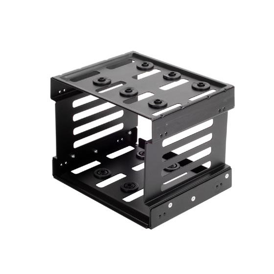 "SilverStone 5.25"" to 3x 3.5"" Hard Drive Cage with ..."
