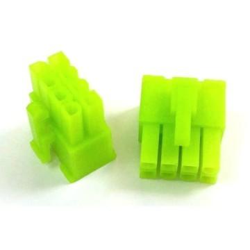 8-Pin PSU CPU/EPS Power Female Connector w/ Pins (UV Green)