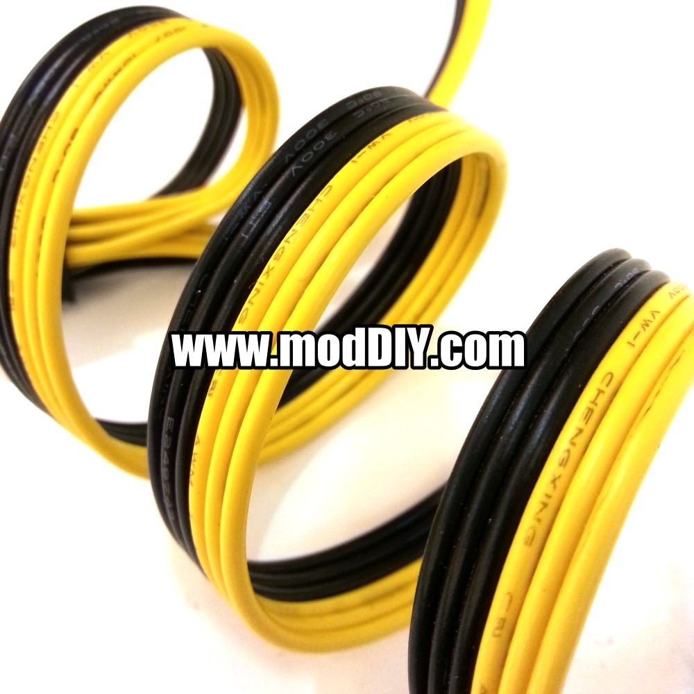 Flat Conductor Ribbon Cable : Corsair style conductor flat ribbon cable wire awg