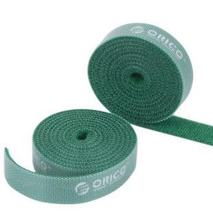 Orico Pro Velcro Cable Tie Roll - 1.5cm x 100cm (Green)