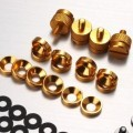Jonsbo Premium PC Mod Aluminium Alloy Screws & Washer Set (95pcs) Gold