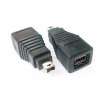 Firewire 800 1394B 9-Pin Female to 4-Pin Male Adapter