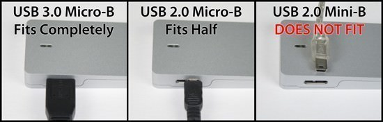USB Type A / Type B / Mini-B / Micro-B Connectors