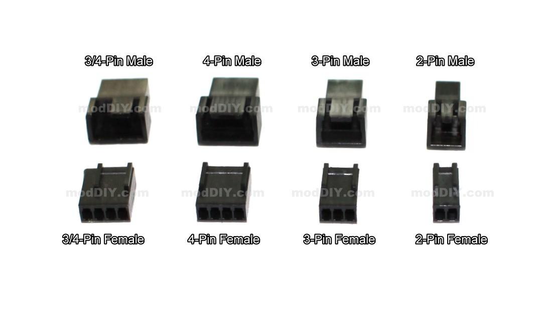 how to wire a pc fan to a plug  | moddiy.com