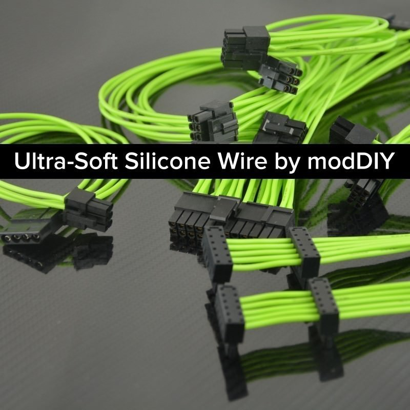 Professional Tailor-Made Custom Sleeved Modular Cable Kit