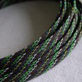 Deluxe High Density Weave Mixed Color Cable Sleeve (4mm)
