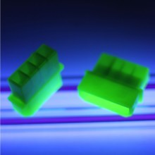 Standard 4-Pin Male Connector w/ Pins (UV Green)