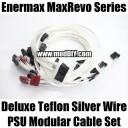 Enermax MaxRevo Deluxe Teflon Silver Wire PSU Modular Cable Set