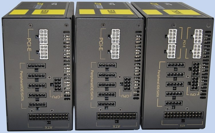 Ocz Zt Series 750w 650w 550w Modular Connectors Full Set
