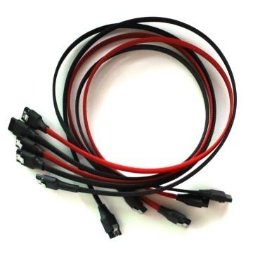 SAS/SSD High-Speed 6Gbps SATA3 SATA III Cable (60cm) - High Density Sleeved