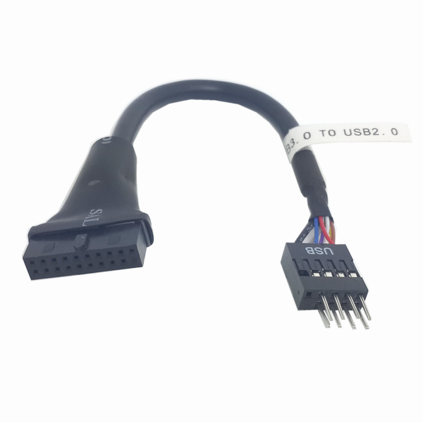 Usb 3 0 To Usb 2 0 Internal Adapter Cable 19pin To 9pin