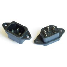 Standard 3-Pin PSU Socket Electrical Socket Power Socket