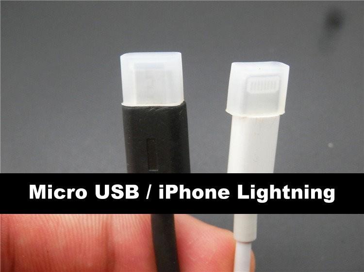 Moddiy Micro Usb Iphone Lightning Male Plug Connector Protective Jack Cover Moddiy Com