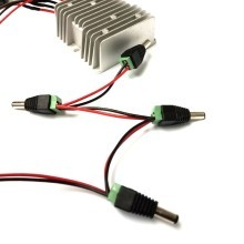 12V to 6V Power Buck / Modify Power Converter to 4x DC5.5x2.1mm