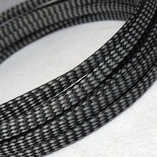 Deluxe PET PP Cotton Braided Sleeving (Grey 8mm)