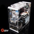 QDIY Professional Modder Acrylic Case (PC-A006)