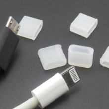 modDIY Micro USB / iPhone Lightning Male Plug Connector Protective Jack Cover