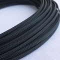 Deluxe High Density Weave Black Cable Sleeve (4mm)