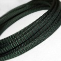 Deluxe PET PP Cotton Braided Sleeving (Dark Green 8mm)