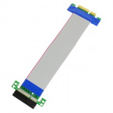Pci Express Pcie X4 Extension Cable Riser 19cm Moddiy Com