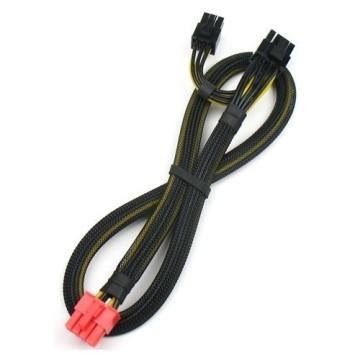 EVGA SuperNOVA P2 Modular Power Supply PSU 8 Pin to 8 Pin + 6 Pin PCI-E Cables