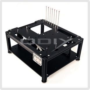 QDIY Professional Modder Acrylic Case (PC-D009)