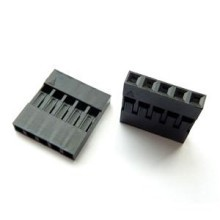 Dupont 5-Pin Female Motherboard Connector - No Label - Black