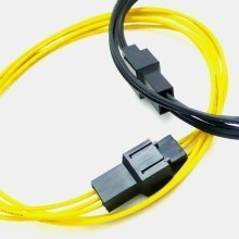 Computer Fan Extension Cable 2-Pin 3-Pin 4-Pin (20cm)
