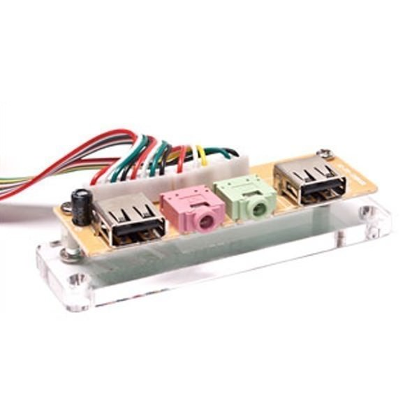 QDIY USB Front Panel Acrylic Case Part (JMPJ-U900)