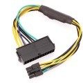 Dell Inspiron 3650 PSU Main Power 24-Pin to 8-Pin Adapter Cable (30cm)
