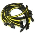 Corsair AX750 Premium Single Sleeved Modular Cable Set (Black/Yellow)