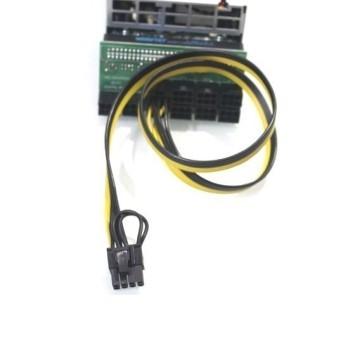 Bitcoin Ethereum Mining 6 Pin to 8 Pin GPU PCIE Power Modular Cable