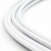 modDIY Pre-made 18AWG Sleeved Electrical Wire (White)