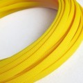 Deluxe High Density Weave Yellow Cable Sleeve (16mm)