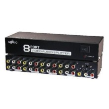 Maituo 8 Port AV Video Audio Splitter (MT-108AV)