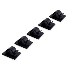 Cord Clips 8.7mm - Black
