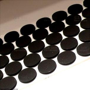 modDIY Premium Rubber Case Feet 18mm Black