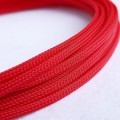Deluxe High Density Weave Red Cable Sleeve (4mm)