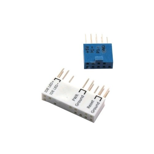 Asus Q-Connector - USB Connector (10-1 Pin) / System Panel Connector (20-8 Pin) - modDIY.com
