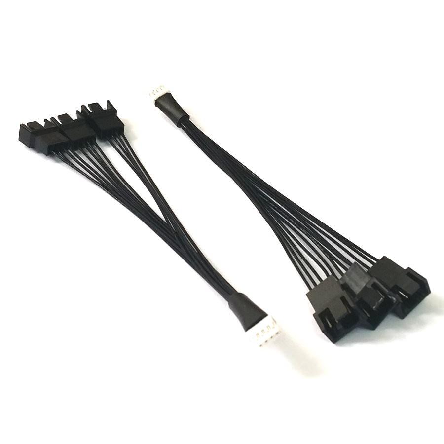 Mini 4 Pin Gpu To 3 X 4 Pin Pwm Fan Adapter Moddiy Com