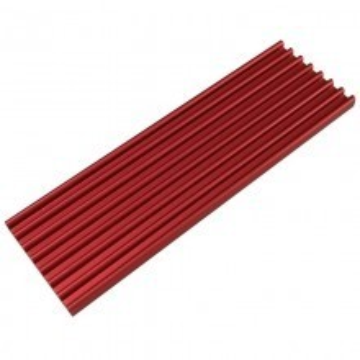 Premium SM951 SM961 950PRO XP9410 M.2 SSD Cooling Heatsink (Red)