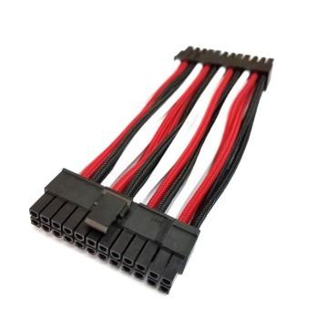 HDPLEX Premium Single Sleeved 24-Pin Main Power Modular Cable (10cm)