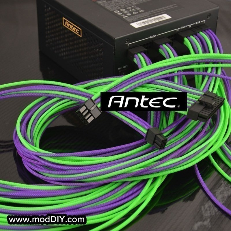 Professional Tailor-Made Antec Custom Sleeved Modular Cable Kit