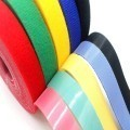 Multi-Color Flexible Reusable Velcro Cable Ties (Custom Length)