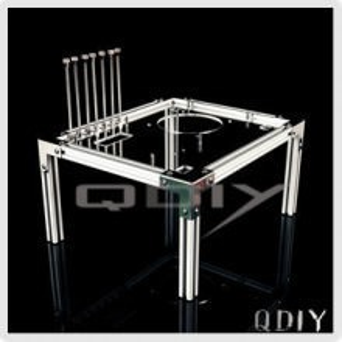 QDIY Professional Modder Acrylic Case (PC-JM520)