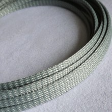 Deluxe PET PP Cotton Braided Sleeving (Silver 4mm)